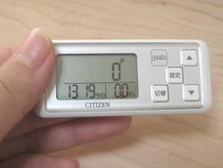CITIZEN シチズンデジタル歩数計peb TW700口コミ感想・評判