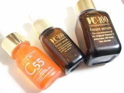 ビタミンC配合美容液 VC100 セラムC55 C200パワーセラム口コミ体験談 クチコミ感想・効果の体験談